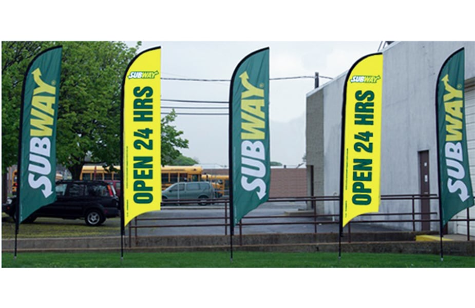 DVC Signs Flags Subway